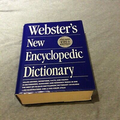 Dictionnaire anglais Webster