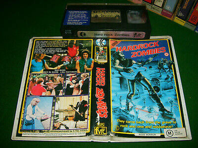 HARDROCK ZOMBIES (1985) - K-TEL Very Rare Oz 1st/Only Issue - CultComedy/Horror
