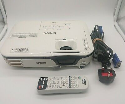 Epson White 3LCD Colour Projector EB-W12 HD Ready Wall / Overhead projector