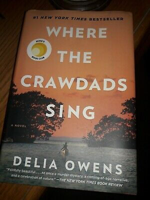 Where The Crawdads Sing Hardcover Book