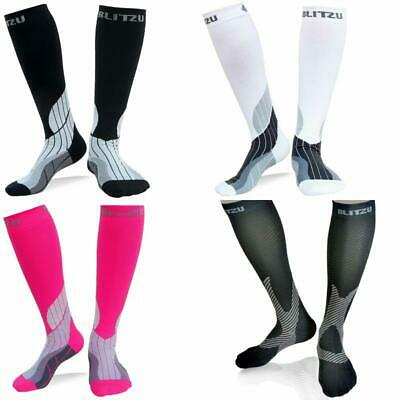 Compression Socks 20-30mmHg Men Women Recovery Running Medical Athletic Edema