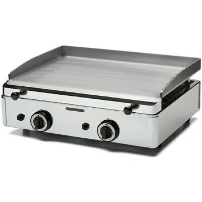 Parry PGF600 LPG Stainless Steel Propane Gas Griddle Two Burners Barely used