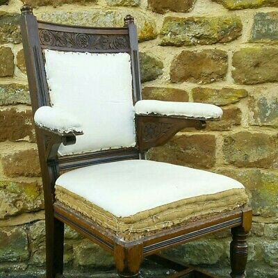 Reduced - Aesthetic Movement Armchair Desk Chair Godwin Gillows