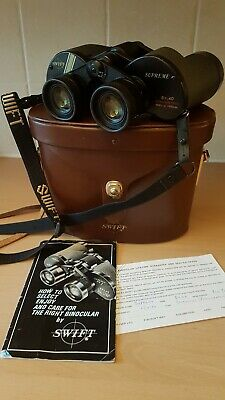 Swift Supreme 8x40 BWCF binoculars, excellent, Japan, very RARE sought after