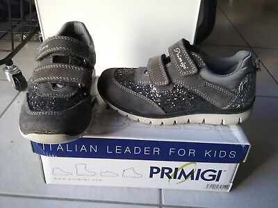 Chaussures / basket fille PRIMIGI grise Dary glitter pointure 32 - TBE !!!