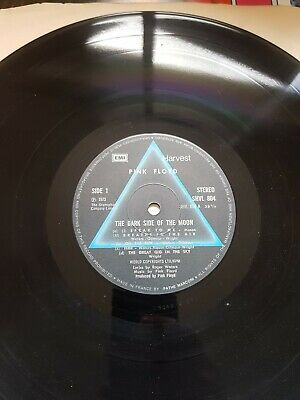 Pink floyd dark side of the moon vinyl 1973 original pressing.