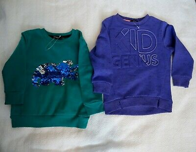 Two brand new Sweatshirts for  aged 12-18 months.