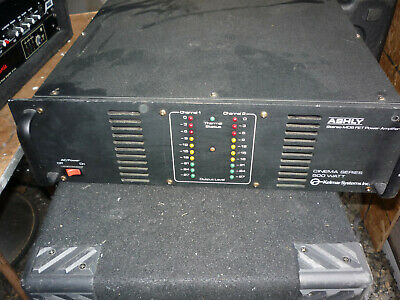 ASHLY Kelmir System Cinema Series FET-500 2-Channel Stereo MOS FET Power Amp