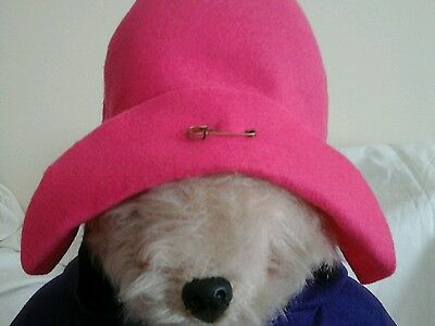 NEW PINK Hat For  Your Gabrielle Paddington Bear( See other listings)