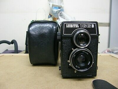 Lubitel 166B Vintage Russian Camera with case and lens cover