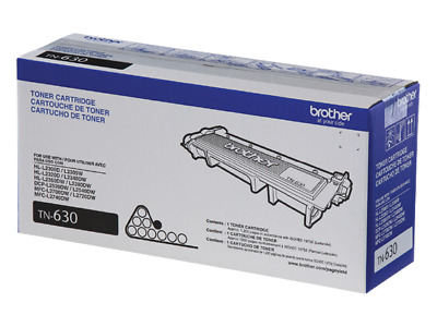 Genuine Brother Tn-630 Black Toner Cartridge Dcp L2300D L2320D L2305W ...