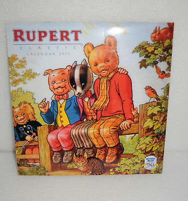 Rupert Bear Classic Calendar 2011 by Flame Tree Publishing