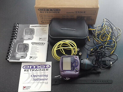 Chattanooga Dual Channel EMG Retrainer W/ Probes, Manuals, Software And Case