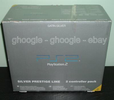 Console Sony Playstation 2 Satin Silver Prestige Line SCPH-50004 SS completa PS2