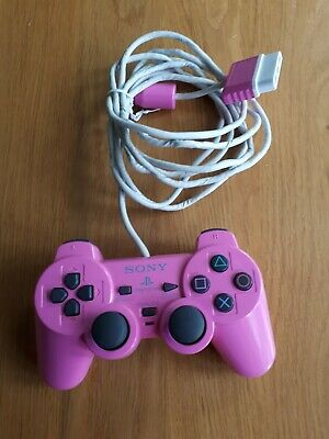Official Sony Playstation 2 Ps2 Pink Dual Shock 2 Analog Controller