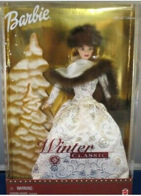 2001 WINTER CLASSIC BARBIE DOLL, Special Edition, Mattel