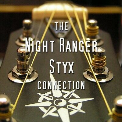 NIGHT RANGER/STYX @RARE TRAXX !Tommy Shaw,Kelly Keagy,Damn Yankees POMP ROCK/AOR