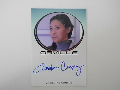 The ORVILLE Season 1 Autograph Christine Corpuz as Dr. Janice Lee
