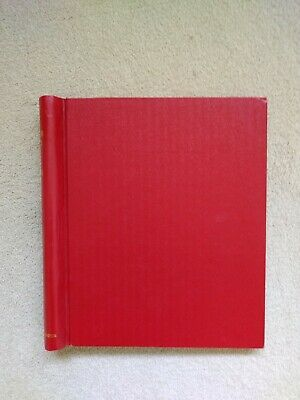 Stanley Gibbons Red Windsor album with Windsor pages. Mint and used stamps.