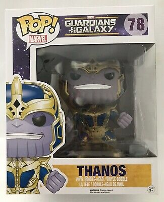 Funko Pop Marvel Thanos #78 Guardian Of The Galaxy Avengers 6-Inch