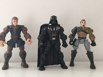 Star Wars Hero Mashers Figures Mixed Bundle Hasbro Toys