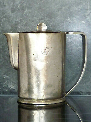 ART DECO HOTEL WARE Coffee Pot INTERCONTINENTAL HOTEL PROP PIECE EPNS