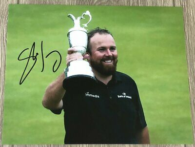 SHANE LOWRY SIGNED AUTOGRAPH 2019 BRITISH OPEN 8x10 PHOTO E w/EXACT PROOF