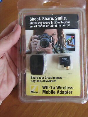 WU-1a Wireless Mobile Adapter for Nikon Digital Cameras, new in sealed package