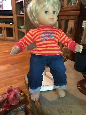 American Girl Doll Bitty Baby Jeans And Shirt New Doll Not Included