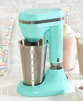 Classic Retro Turquoise Milkshake Maker 100 Watt Shakes Smoothies Protien Drinks