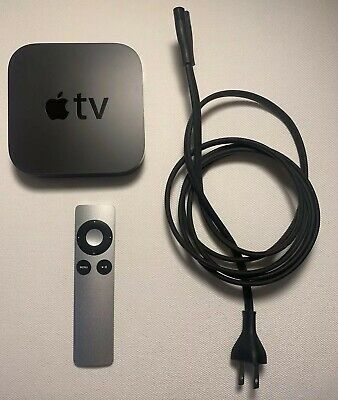Apple TV (3rd Generation) A1469 with Original Remote