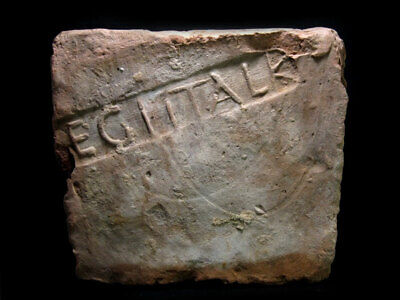 Extremely Rare, Well Preserved Roman *Legio I Italica* Stamped Brick +++
