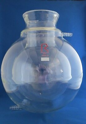 Reliance Jacketed Spherical Reaction Vessel w/ Conical Flange 5000mL 5L