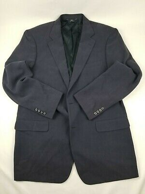 Brooks Brothers 346 Mens Suit Coat 44L Faded Blue Style