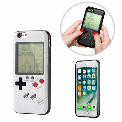 Gameboy Playable Gaming Phone Case for iPhone 7 7 Plus 8 8 Plus X XS XS Max XR