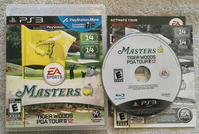 Tiger Woods PGA Tour 12: The Masters - PS3 - CIB