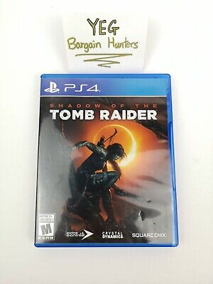 Shadow of The Tomb Raider (Playstation 4, 2018) Complete Tested Canadian Seller