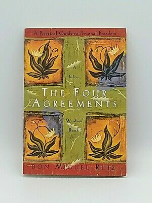 The Four Agreements • A Practical Guide by Don Miguel Ruiz (1997 • Paperback)