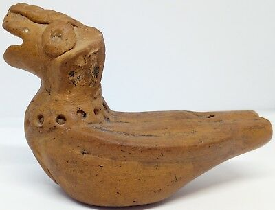 Ancient  Clay Whistle Toy Ram , Sheep ,Work,Sound Medieval 800-1500AD.