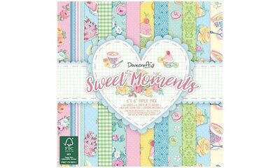 """Sample craft paper 150gsm """"  sweet moments"""" scrapbooking"""