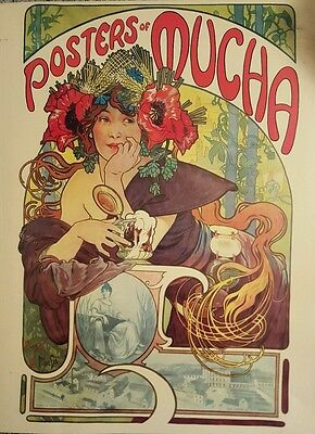 Posters Of Mucha Introduction by Linda Sunshine Harmony Books New York 1975
