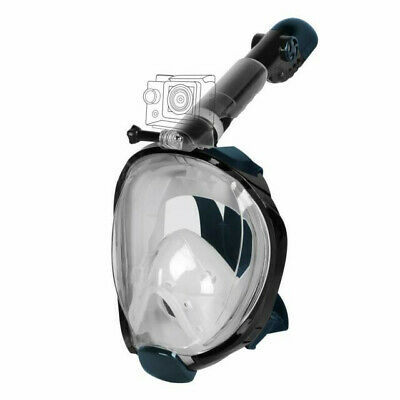 Unigear Full Face Snorkel Mask with Detachable Camera Mount, 180°Panoramic View