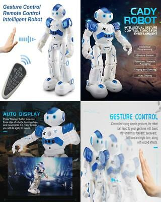 Stxiyu Rc Robot Smart Toys Gesture Control Remote Blue