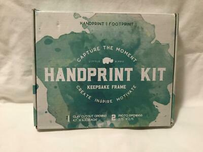 Little Hippo Baby Handprint Kit Baby Picture Frame