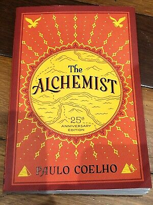 The Alchemist, 25th Anniversary, by Paulo Coelho, Paperback, New - Free Shipping