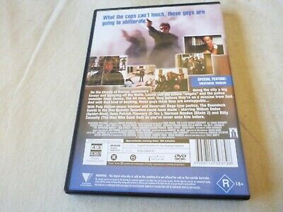 The Boondock Saints (DVD, 2004) Region 4 Sean Patrick Flanery, Norman Reedus