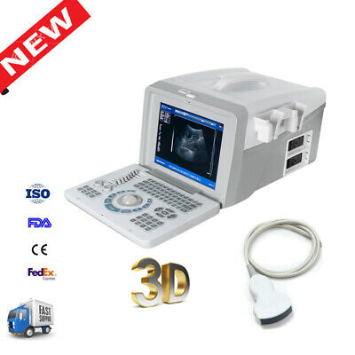 Portable Full Digital Ultrasound Scanner machine with Convex Probe Medical CE A+