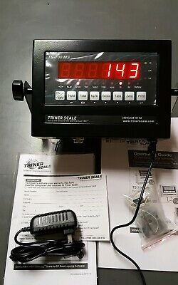 NEW TRINER TS-700 MS Scale Digital Weighing Indicator + Surge Protector