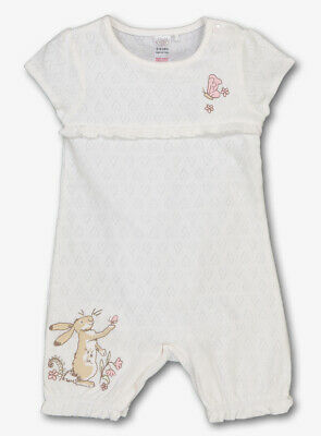 "BABY GIRLS ""GUESS HOW MUCH I LOVE YOU"" ROMPER - 0-3m, 3-6m, 6-9m"