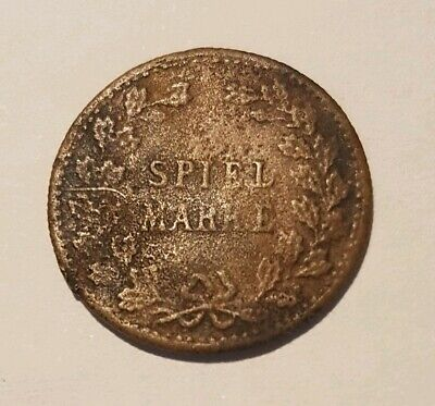 Antique German Gaming Token